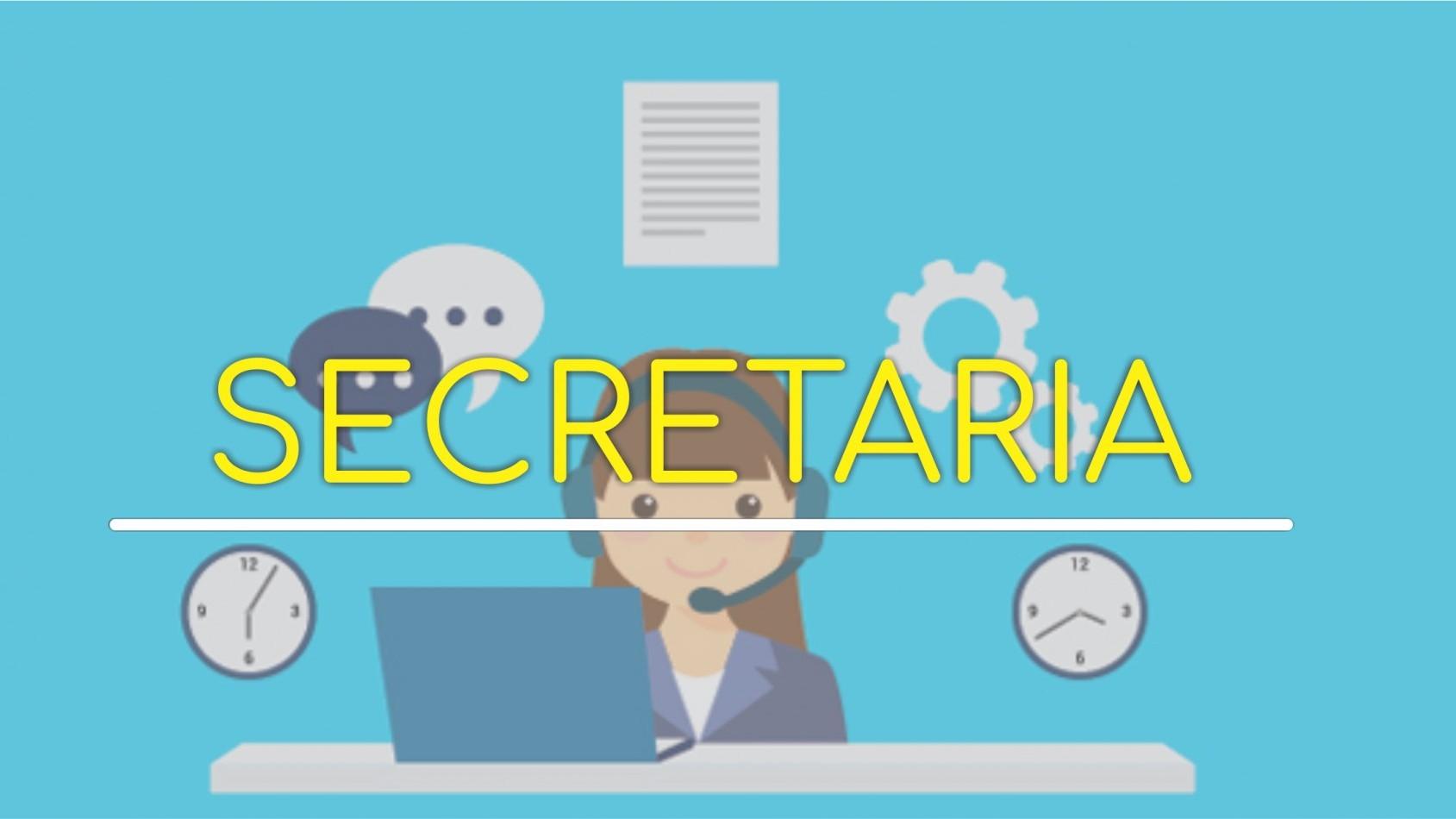 Atendimento secretaria